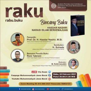 Diskusi Buku Biografi Haedar Nashir