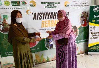 Pembagian Paket Ramadhan PW Aisyiyah Aceh