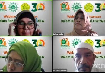 Webinar Kebencanaan LLHPB PW Aisyiyah Aceh