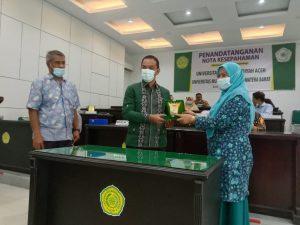 Penandatanganan Mou Empat PTMA Aceh