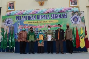 Pelantikan Kepala SD Muhammadiyah 11 Surabaya
